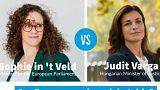 Liberális EP-képviselővel vitázik a magyar igazságügyminiszter