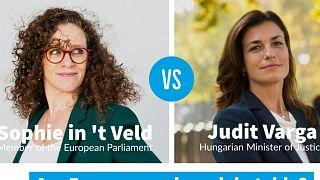 Liberális EP-képviselővel vitázott a magyar igazságügyminiszter