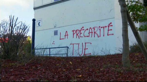 Frankreich: Proteste nach Verzweiflungstat eines armen Studenten