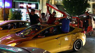 آلبوم عکس؛ جشن پیروزی تیم فوتبال عراق در میدان التحریر بغداد
