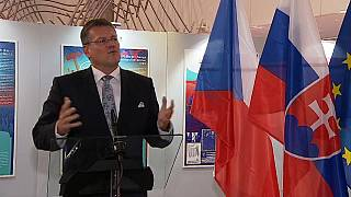 """30-летие """"бархатной революции"""" в Чехословакии"""