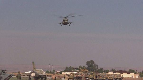 ABD'nin çekilmesinin ardından Rusya Suriye'nin kuzeyinde helikopter üssü kurdu