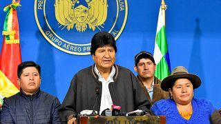 Devrik lider Morales: Genelkurmay Başkanı Kaliman'ın ihaneti karşısında hayrete düştüm