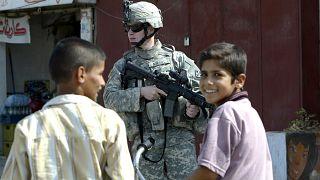 Irak'ta bir ABD askeri
