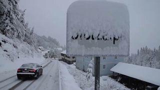 Hóhelyzet Ausztriában