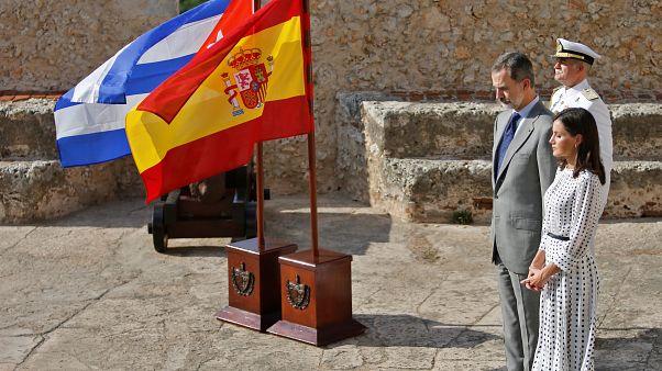 """Felipe VI se reúne por """"sorpresa"""" con Raúl Castro antes de dejar Cuba"""