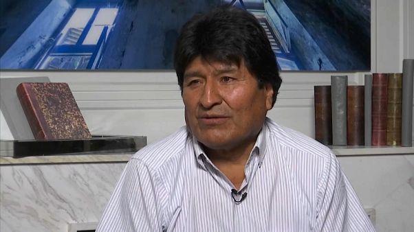 Morales quer mediação da ONU na crise política da Bolívia