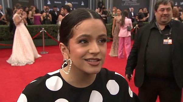 Rosalia tarolt az idei Latin Grammy díjátadón