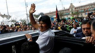 درخواست مورالس از پاپ، سازمان ملل و اروپا برای میانجی گری در بولیوی
