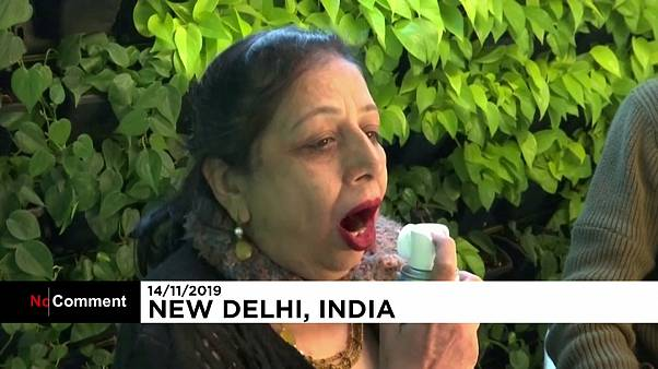 Für 6€: Sauerstoff-Cocktail für Smog-geplagte Inder