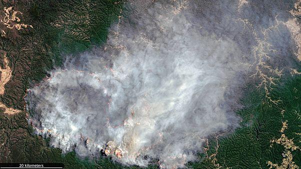 Incendio en Lithgow, Nueva Gales del Sur