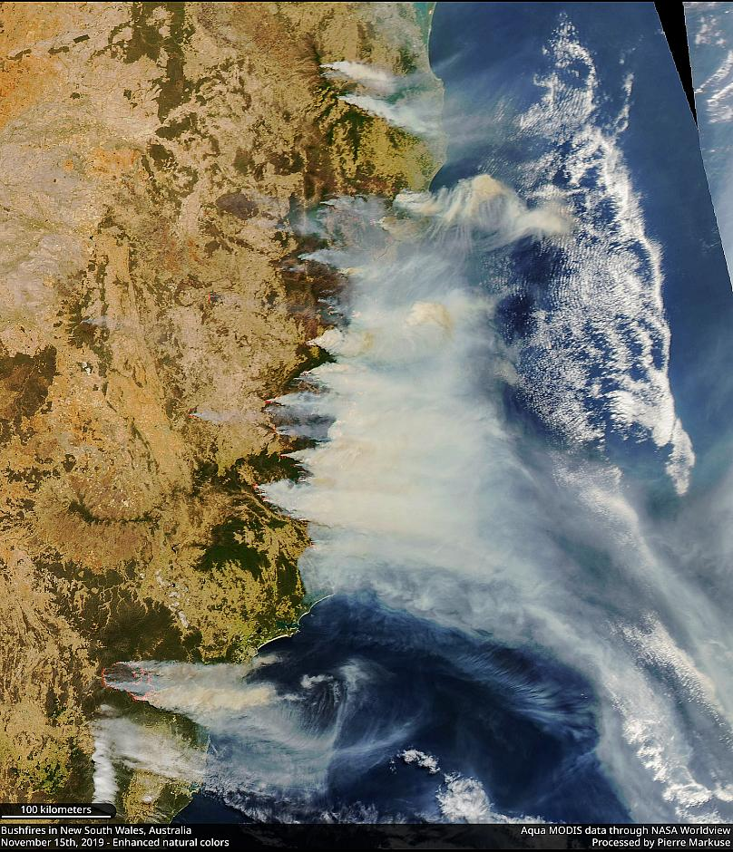 Datos de Aqua MODIS con NASA Worldview, procesados por Pierre Markuse