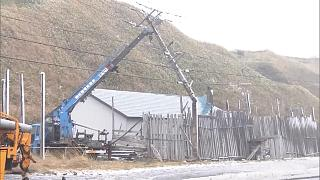 Хоккайдо во власти непогоды