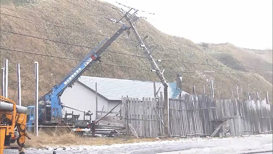 Winter storms set to hit northern Japan