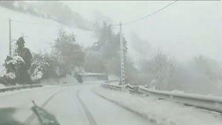 Was? Schnee auf Mallorca?