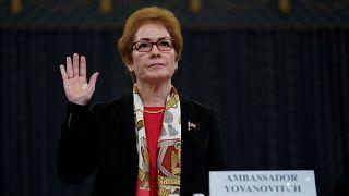 سفيرة أمريكا السابقة في أوكرانيا تدلي بشهادتها في قضية عزل ترامب