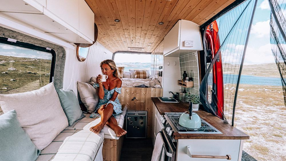 The travel blogger making the most of Europe in a converted van