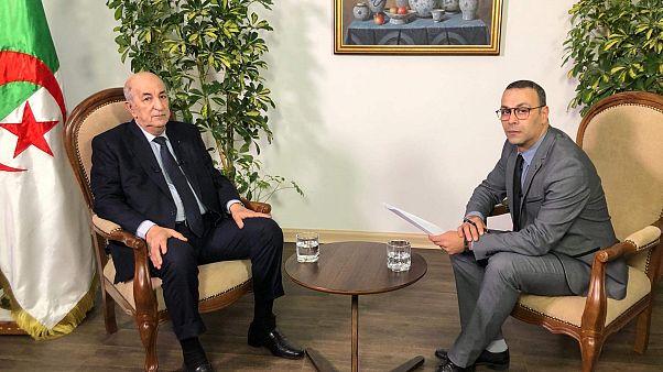 المرشح الحر للانتخابات الرئاسية الجزائرية عبد المجيد تبون