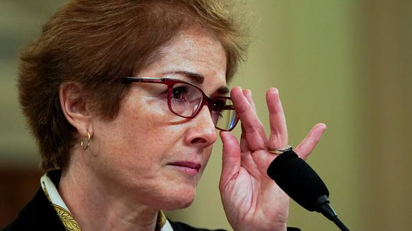 Marie Yovanovitch, former U.S. ambassador to Ukraine, testifies at a House Intelligence Committee  hearing