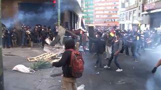 Confrontos na Bolívia fazem 5 mortos