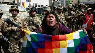 بولیوی: کوبا مخالفان را تحریک نکند، دیپلماتهای ونزوئلایی لاپاز را ترک کنند
