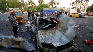 Robbantásos merénylet, halottak Bagdadban