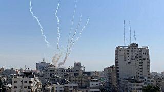 إسرائيل تقصف مجددا مواقع في غزة ردا على إطلاق صواريخ من القطاع