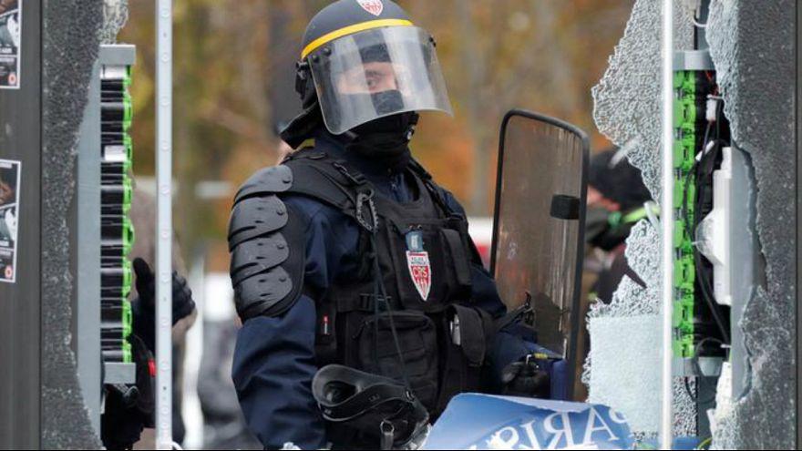 تظاهرات در پاریس در سالگرد تشکیل جنبش جلیقهزردهای فرانسه