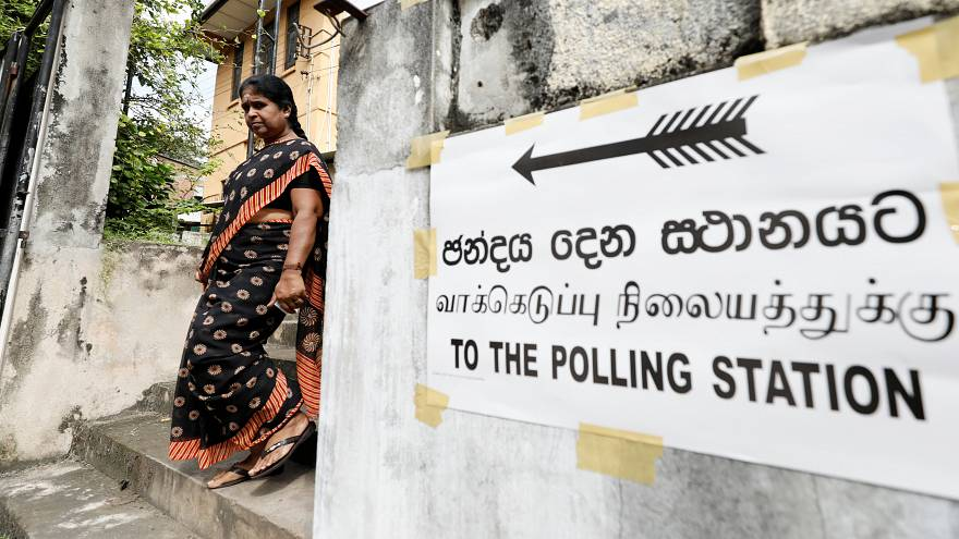 Sri Lanka votes for a new president
