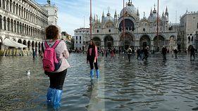 El alcalde de Venecia estima daños valorados en más de mil millones de euros por las inundaciones