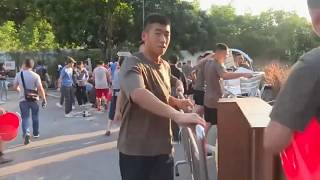 China sends troops onto Hong Kong's street's to clean up after protests