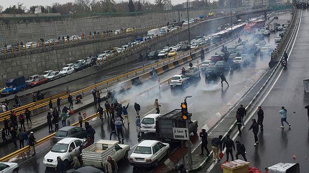 """""""Бензиновые"""" протесты в Иране"""