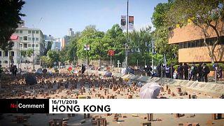 دانشجویان سرسخت و معترض دانشگاه پلیتکنیک کاولون هنگکنگ را به تعطیلی کشاندند
