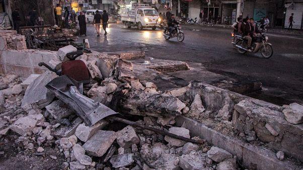 مقتل 19 شخصا في تفجير بمدينة الباب السورية