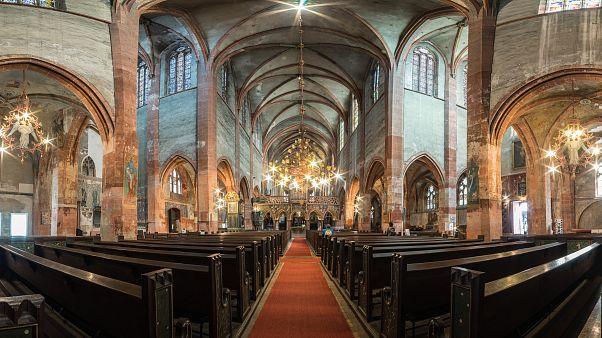 Strazburg'da Saint-Pierre-le-Jeune Protestan Kilisesi