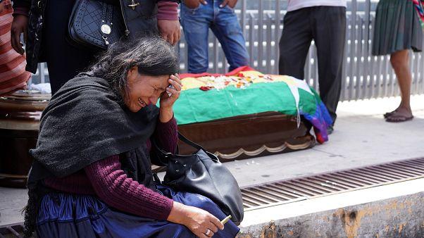 بوليفيا: مقتل 4 أشخاص واستمرار التوتر بين المتظاهرين والشرطة