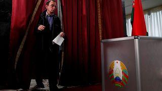 1994'ten beri Lukaşenko'nun yönettiği Belarus'ta parlamento seçimleri gerçekleşiyor