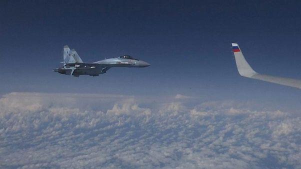 Rus savaş uçakları İdlib'e hava saldırısı düzenledi