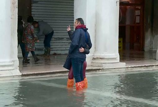 По Венеции в резиновых сапогах