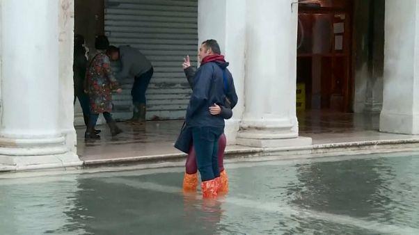 شاهد: البندقية الغارقة تخشى ارتفاع منسوب المياه مجددا