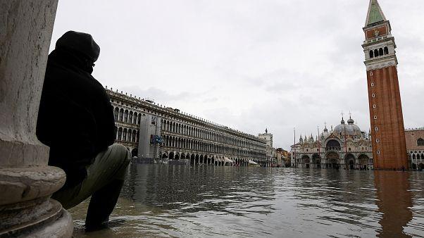 Βενετία: Για τρίτη φορά σε μια εβδομάδα πλημμύρισε η «Γαληνοτάτη»