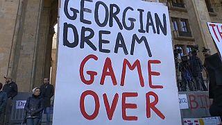 Протестная осень в Грузии