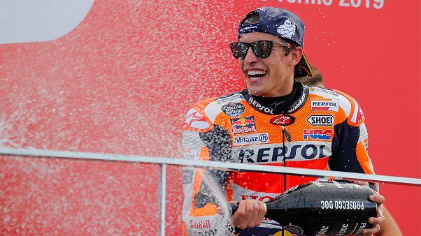 Márquez y Honda reinan en el adiós de Lorenzo