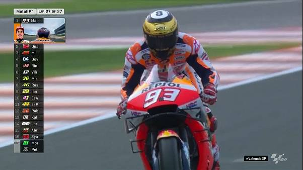 MotoGP: Marquez triumphiert auch bei letztem Saison-Rennen