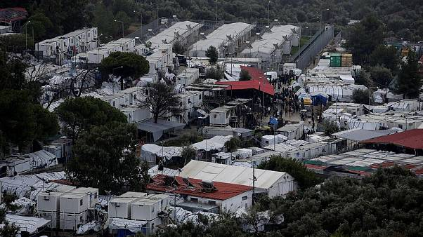Baby dies in Moria migrant camp, MSF reveals