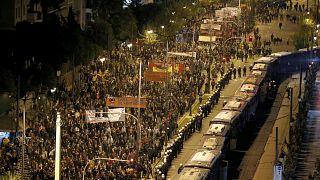 آلاف اليونانيين يتظاهرون في ذكرى انتفاضة الطلاب على الحكم العسكري