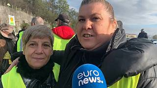 Gilets Jaunes are 'a big family' say these protesters