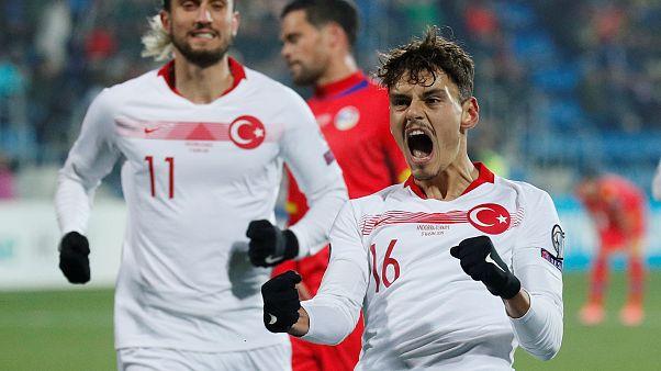 Türkiye Euro 2020'ye Andorra galibiyetiyle gitti: 2-0