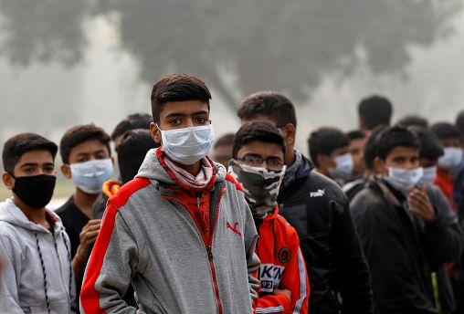 Pollution de l'air : les Indiens inquiets pour leur santé