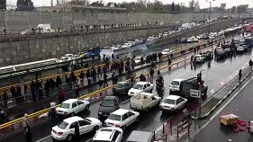 اعتراض به افزایش بهای بنزین در تهران
